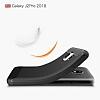 Eiroo Carbon Shield Samsung Galaxy J2 Pro 2018 Ultra Koruma Siyah Kılıf - Resim 1