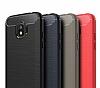 Eiroo Carbon Shield Samsung Grand Prime Pro J250F Ultra Koruma Siyah Kılıf - Resim 4