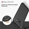 Eiroo Carbon Shield Samsung Grand Prime Pro J250F Ultra Koruma Siyah Kılıf - Resim 2