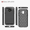 Eiroo Carbon Shield Samsung Grand Prime Pro J250F Ultra Koruma Siyah Kılıf - Resim 6