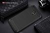 Eiroo Carbon Shield Samsung Galaxy J3 2017 Ultra Koruma Lacivert Kılıf - Resim 3