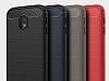 Eiroo Carbon Shield Samsung Galaxy J3 Pro 2017 Ultra Koruma Siyah Kılıf - Resim 4