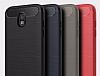 Eiroo Carbon Shield Samsung Galaxy J5 Pro 2017 Ultra Koruma Siyah Kılıf - Resim 6