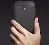 Eiroo Carbon Shield Samsung Galaxy J5 Pro 2017 Ultra Koruma Siyah Kılıf - Resim 5