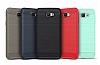 Eiroo Carbon Shield Samsung Galaxy J5 Prime Ultra Koruma Lacivert Kılıf - Resim 5