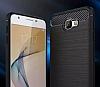 Eiroo Carbon Shield Samsung Galaxy J5 Prime Ultra Koruma Lacivert Kılıf - Resim 3