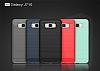 Eiroo Carbon Shield Samsung Galaxy J7 2016 Ultra Koruma Dark Silver Kılıf - Resim 3
