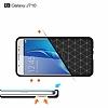Eiroo Carbon Shield Samsung Galaxy J7 2016 Ultra Koruma Dark Silver Kılıf - Resim 2