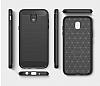 Eiroo Carbon Shield Samsung Galaxy J7 Pro 2017 Ultra Koruma Dark Silver Kılıf - Resim 6