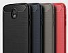 Eiroo Carbon Shield Samsung Galaxy J7 Pro 2017 Ultra Koruma Dark Silver Kılıf - Resim 9