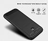 Eiroo Carbon Shield Samsung Galaxy J7 Pro 2017 Ultra Koruma Dark Silver Kılıf - Resim 3