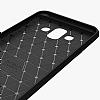 Eiroo Carbon Shield Samsung Galaxy J7 Duo Ultra Koruma Siyah Kılıf - Resim 4