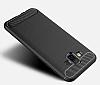 Eiroo Carbon Shield Samsung Galaxy J7 Duo Ultra Koruma Siyah Kılıf - Resim 2