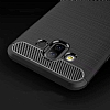 Eiroo Carbon Shield Samsung Galaxy J7 Duo Ultra Koruma Siyah Kılıf - Resim 3