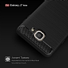 Eiroo Carbon Shield Samsung Galaxy J7 Max Ultra Koruma Dark Silver Kılıf - Resim 6