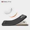 Eiroo Carbon Shield Samsung Galaxy J7 Max Ultra Koruma Dark Silver Kılıf - Resim 3