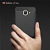 Eiroo Carbon Shield Samsung Galaxy J7 Max Ultra Koruma Dark Silver Kılıf - Resim 8