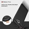 Eiroo Carbon Shield Samsung Galaxy J7 Max Ultra Koruma Dark Silver Kılıf - Resim 4