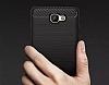 Eiroo Carbon Shield Samsung Galaxy J7 Prime Ultra Koruma Dark Silver Kılıf - Resim 5