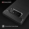 Eiroo Carbon Shield Samsung Galaxy Note 8 Ultra Koruma Dark Silver Kılıf - Resim 1