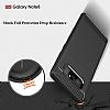 Eiroo Carbon Shield Samsung Galaxy Note 8 Ultra Koruma Dark Silver Kılıf - Resim 3