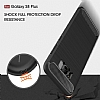 Eiroo Carbon Shield Samsung Galaxy S8 Plus Ultra Koruma Dark Silver Kılıf - Resim 5