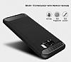 Eiroo Carbon Shield Samsung Galaxy S8 Plus Ultra Koruma Lacivert Kılıf - Resim 4