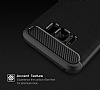 Eiroo Carbon Shield Samsung Galaxy S8 Ultra Koruma Dark Silver Kılıf - Resim 1