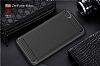 Eiroo Carbon Shield Asus Zenfone 4 Max ZC554KL Ultra Koruma Lacivert Kılıf - Resim 2
