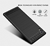 Eiroo Carbon Shield Sony Xperia XA1 Süper Koruma Siyah Kılıf - Resim 3