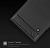 Eiroo Carbon Shield Sony Xperia XA1 Süper Koruma Siyah Kılıf - Resim 6