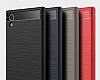 Eiroo Carbon Shield Sony Xperia XA1 Süper Koruma Siyah Kılıf - Resim 8