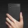 Eiroo Carbon Shield Sony Xperia XA1 Süper Koruma Siyah Kılıf - Resim 7