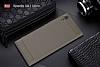 Eiroo Carbon Shield Sony Xperia XA1 Ultra Süper Koruma Dark Silver Kılıf - Resim 6