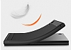 Eiroo Carbon Shield Sony Xperia XA1 Ultra Süper Koruma Dark Silver Kılıf - Resim 2