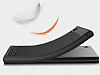 Eiroo Carbon Shield Sony Xperia XA1 Ultra Süper Koruma Siyah Kılıf - Resim 9