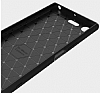 Eiroo Carbon Shield Sony Xperia XZ Premium Ultra Koruma Siyah Kılıf - Resim 1