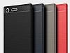 Eiroo Carbon Shield Sony Xperia XZ Premium Ultra Koruma Siyah Kılıf - Resim 6