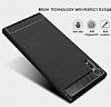 Eiroo Carbon Shield Sony Xperia XZ Süper Koruma Lacivert Kılıf - Resim 1
