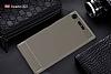 Eiroo Carbon Shield Sony Xperia XZ1 Süper Koruma Gri Kılıf - Resim 1