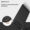 Eiroo Carbon Shield Sony Xperia XZ1 Süper Koruma Gri Kılıf - Resim 9