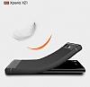Eiroo Carbon Shield Sony Xperia XZ1 Süper Koruma Gri Kılıf - Resim 8