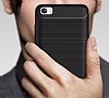 Eiroo Carbon Shield Xiaomi Mi 5 Süper Koruma Siyah Kılıf - Resim 3