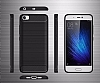 Eiroo Carbon Shield Xiaomi Mi 5 Ultra Koruma Siyah Kılıf - Resim 4