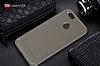 Eiroo Carbon Shield Xiaomi Mi 5X Ultra Koruma Gri Kılıf - Resim 1