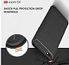 Eiroo Carbon Shield Xiaomi Mi 5X Ultra Koruma Gri Kılıf - Resim 5