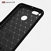 Eiroo Carbon Shield Xiaomi Mi 5X Ultra Koruma Gri Kılıf - Resim 8