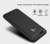 Eiroo Carbon Shield Xiaomi Mi 5X Ultra Koruma Gri Kılıf - Resim 2