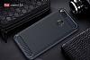 Eiroo Carbon Shield Xiaomi Mi 5X Ultra Koruma Lacivert Kılıf - Resim 1