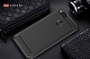 Eiroo Carbon Shield Xiaomi Mi 5X / Mi A1 Ultra Koruma Siyah Kılıf - Resim 1